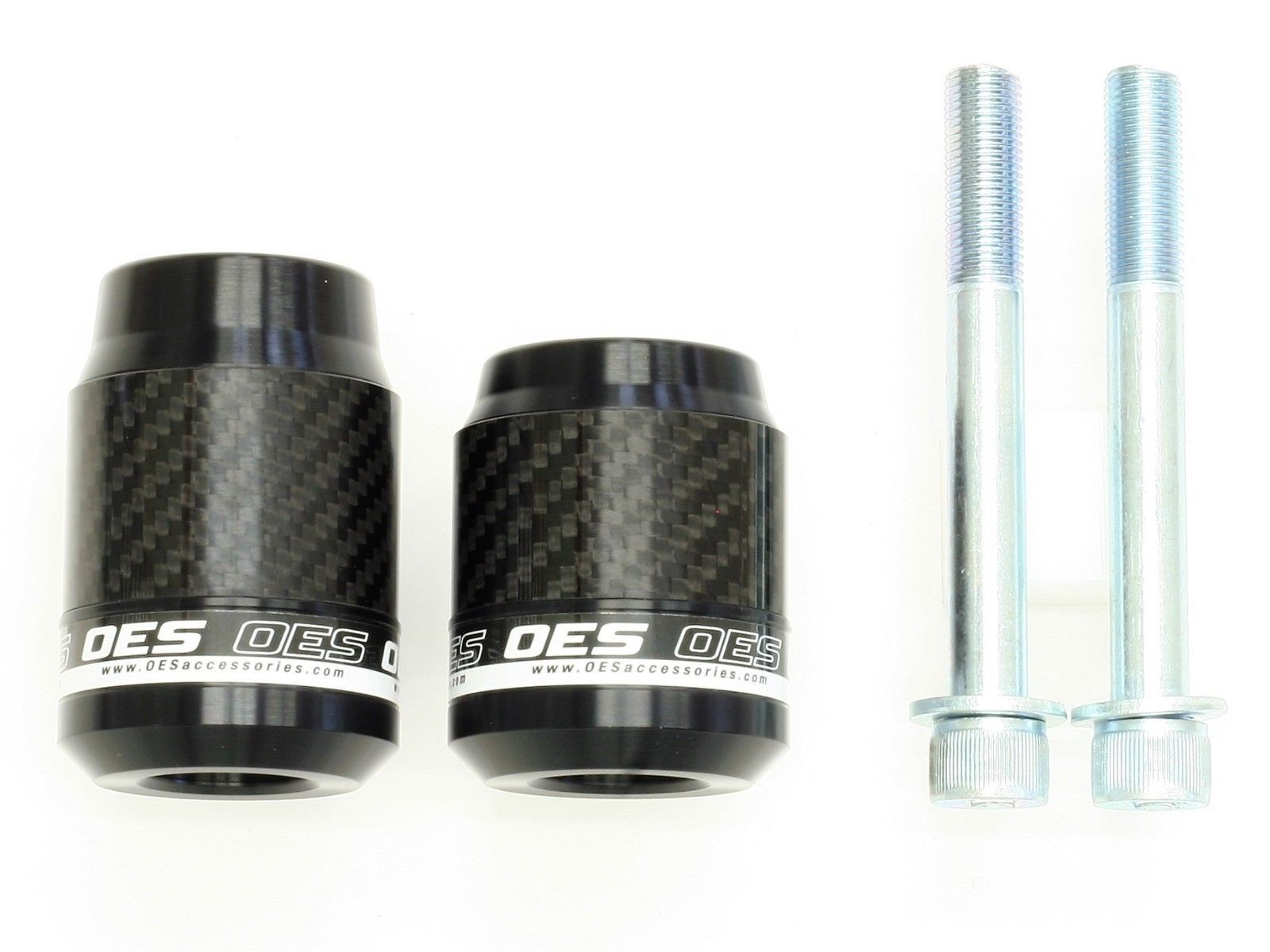 OES Carbon Frame Sliders 2019 Honda CB1000R No Cut Made In USA image 2