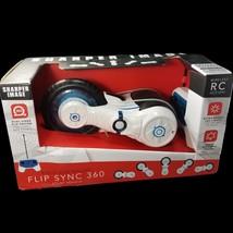 Sharper Image RC Radio Controlled Flip Sync 360 Stunt Vehicle LED Lights... - $22.24