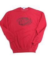 Dr. Pepper Sweatshirt Soft Heathered Red Burgundy Logo Medium- BRAND NEW - $19.80