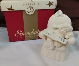 Dept 56 Snowbabies The Gift Of Christmas 2004 NOT A CREATURE WAS STIRRIN... - $19.95