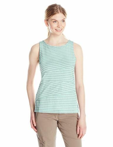 Large 12-14 White Sierra Women's Shadow Tank Top Sleeveless Tee Shirt Clearwater