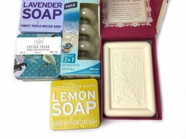 Lot Of New Scottish Fine Soaps Glade Ocean Blue Cranberry Spice Moisturizing Bar image 2