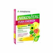 Arkopharma Arkovital Pure Energy Multivitamins Immuno Plus Tablets, 30 U... - $28.70