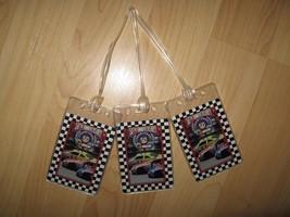 NASCAR Luggage Tags - Race Car 50th Anniversary 1998 Driver Name Tag Set... - $19.79
