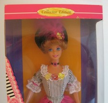NEW 1996 Dolls of the World FRENCH BARBIE NRFB #16499 DOTW Auburn Hair B... - $12.99
