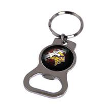 Non Metal Nfl Minnesota Vikings Bottle Opener Key Ring By Rico Industries (Lengt - $11.62