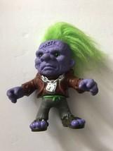 "Vintage Franken Troll 5"" Figure Battle Trolls Hasbro 1992 Frankenstein - $9.39"