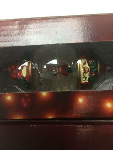 Kirkland Signature Waterglobe Ornaments Lot of 3 Christmas Tree Santa Drummer image 4