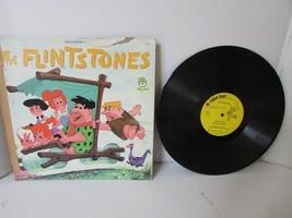 Vtg Record Álbum Flintstones Birthday Blues Genial Shape Up Peter Pan 81... - £5.50 GBP