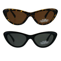 Womens Mod Cat Eye Plastic Gothic Sunglasses - $9.95