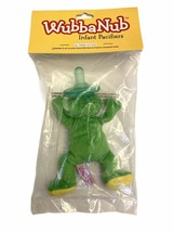 WubbaNub Green Frog Pacifier NEW Latex Free Medical Grade Infant to 6 mo... - $14.84