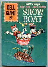 Dell Giant Daisy Duck And Uncle Scrooge Show Boat Dell Giant #55 1961 - $31.04