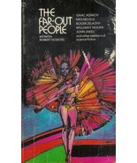 """1971 Signet #Q4689 - """"The Far-Out People"""" by Isaac Asimov & others! 1st ... - $6.95"""