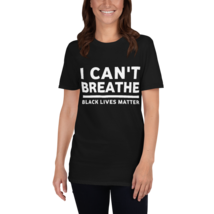 I Can't Breathe T-shirt / I Can't Breathe Short-Sleeve Unisex T-Shirt image 5