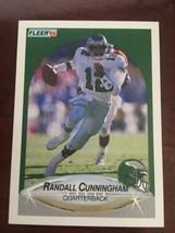 1990 Fleer - Randall Cunningham #82 - $0.99
