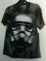 Star Wars Stormtrooper Men's Black Graphic Cotton T-Shirt NEW - $11.75