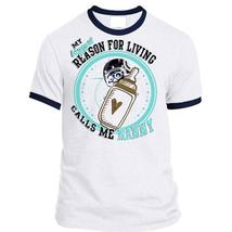 My Biggest Reason For Living Calls Me Nanny T Shirt, Being A Mother T Sh... - $23.99+