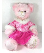 BUILD-A-BEAR Pink Plush Bear Cancer Awareness  - $38.79