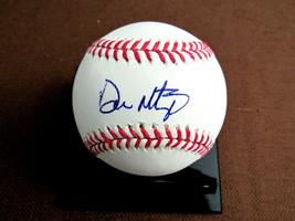DON MATTINGLY NEW YORK YANKEES MVP MARLINS MGR SIGNED AUTO OML BASEBALL ... - $118.79