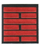 G.I. Joe Snake Eyes Ninja Clan Red and Black Logo Embroidered Patch NEW ... - $7.84