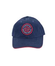 True Religion Men's Circle Patch Sports Solid Hat Baseball Strapback Cap image 3