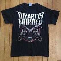Thy Art Is Murder T-Shirt band shirt Sydney heavy metal size small adult  - $18.70