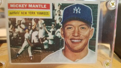 1956 Super Sharp Topps Mickey Mantle New And 50 Similar Items