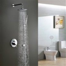 Moselle Single Handle Shower Set with 8 Inch Shower & Hand Shower - $267.00