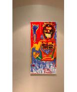 SIGNED ORIGINAL PAINTING Oil on Canvas Vibrant Colors Jean Michel Basqui... - $9,954.99