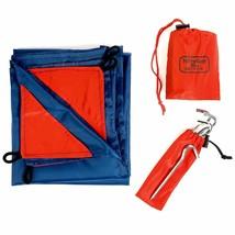 COMPACT Pocket Blanket Ultra Lightweight Waterproof Picnic Beach Camping... - $18.17