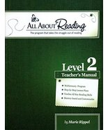 All About Reading Level 2 Teachers's Manual [Paperback] [Jan 01, 2013] M... - $23.00
