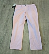 NEW $89 Polo Ralph POLO Lauren Stretch Straight Fit Chino Pants Pink 36X32  - $44.99