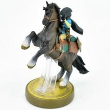 Nintendo The Legend of Zelda Breath of the Wild Link Hooded Rider Loose Amiibo image 2