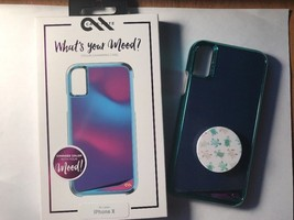 Case-Mate Whats Your Mood Case For iPhone X with Accessories and Pop Socket - $23.36