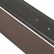 Calvin Klein Men's 35mm Reversible Genuine Leather Harness Buckle Belt 7538796 image 4
