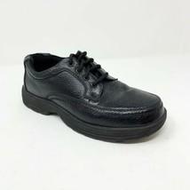 Nunn Bush Men's Size 8 M 83055-78 Black Leather Oxford Comfort Gel Lace ... - $36.76