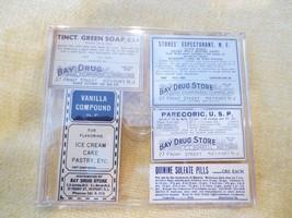 Vintage Pharmacy Labels - $2.96