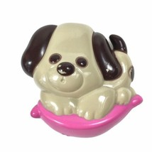 Vintage Collectible 1974 Avon Puppy Love Dog Pin Pal Fragrance Glace' - ... - $13.98