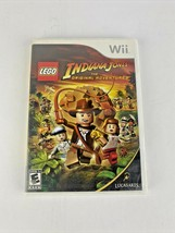 LEGO Indiana Jones The Original Adventures Nintendo Wii 2008 Complete  - $12.49