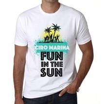 Men's Vintage Tee Shirt Graphic T shirt Summer Dance CIRO MARINA White - $15.95