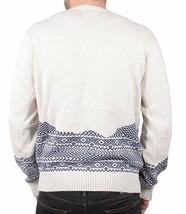 Staple Mens Cream Skylight Knitt 100% Cotton Crewneck Sweater NWT image 2