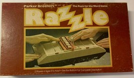 Razzle Board Game Vintage Parker Brothers 1981 Complete - £12.03 GBP
