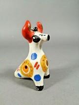Vintage clay whistle. Cow. Dymkovo Ocarina. Sound. Handmade. Free - $35.64