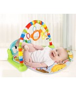 Cotton And Plastic Educational Puzzle Carpet Animal Crawling Activity Ma... - $35.99