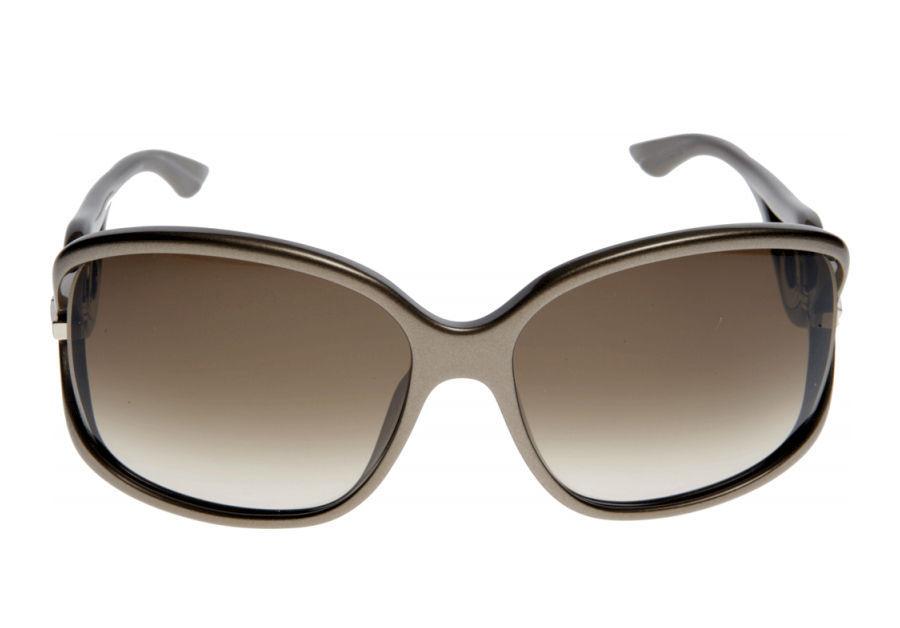 e160a47fc4b ... Dior Sunglasses Volute 2-STR OUS CC Dove Grey w  Brown Gradient Lenses