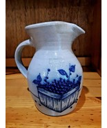1991 Salmon Falls Dover Salt Glazed Stoneware  Blueberry Basket Crock Pi... - $32.66