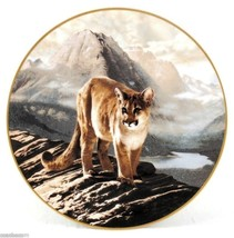 The Cougar World's Most Magnificent Cats 1991 Charles Fracé Bradford Pla... - $34.50