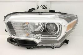 Oem Head Light Headlight Lamp Toyota Tacoma 16-19 Trd Black Led Damaged Lh - $84.15