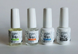 Gelish Mini Soak-Off Gel Nails Basics, Foundation Top It Off pH Bond Nou... - $6.99+