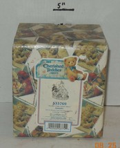"""Cherished Teddies ANNETTE """"Tender Care Given Here"""" #533769 1999 Enesco - $23.38"""
